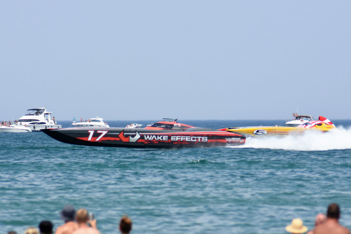 Great Lakes Grand Prix Returns to Michigan City for Tenth Year of Superboat Racing Excitement