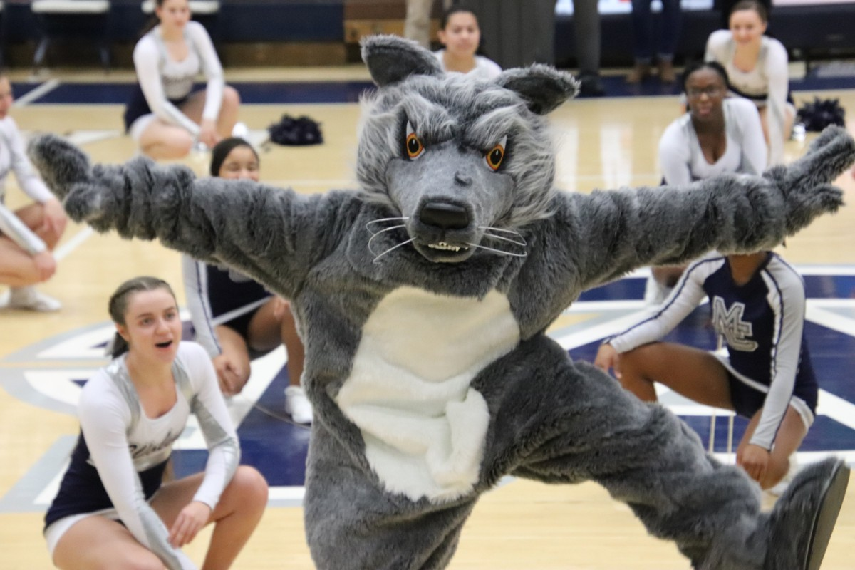 Michigan City High School Debuts New Wolfie Mascot With Help From the Community