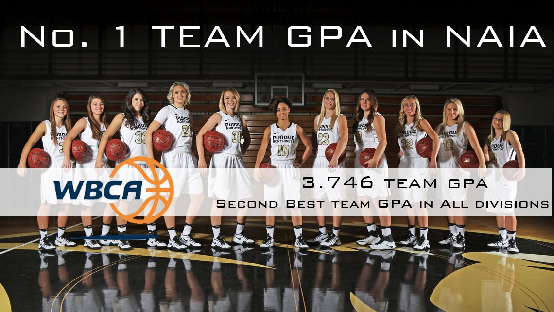 PNW Women's Basketball Earns Top GPA Honor in NAIA; Second in All Divisons