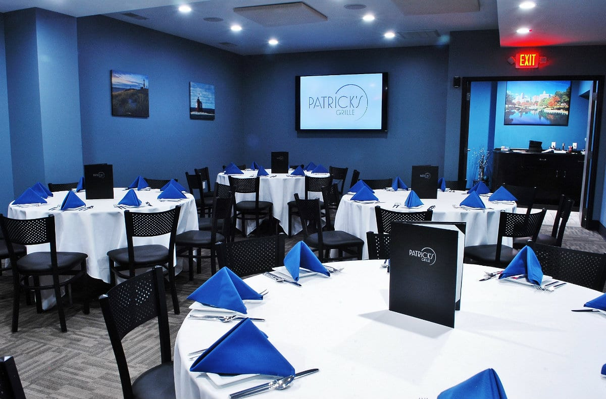 Patrick's Grille's Event Space Caters to Your Every Need