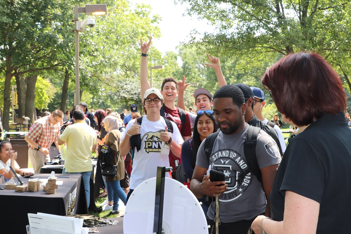 Purdue University Northwest Welcomes Hammond Students with 2018 Rally