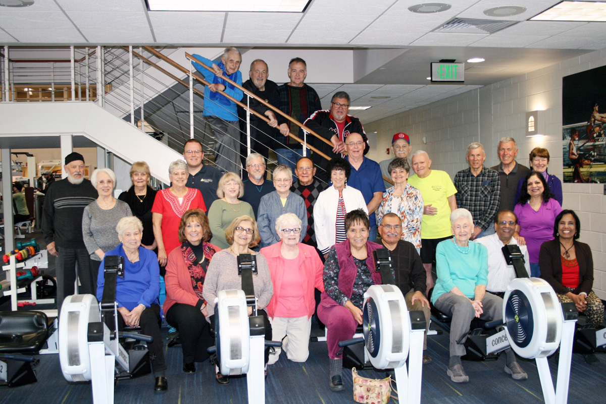 Community Hospital Fitness Pointe Members Row, Row, Row Their Way into First Place in World Challenge, Ninth Consecutive Win