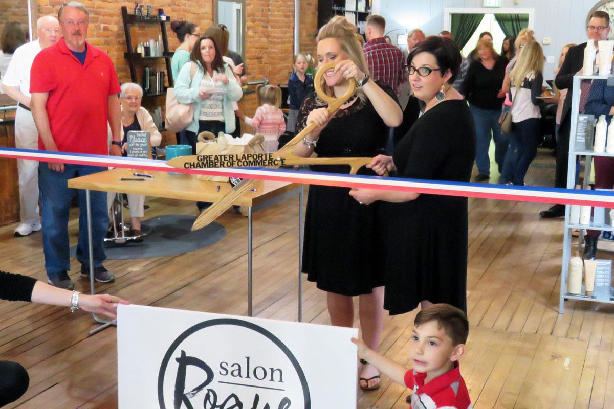 Salon Rogue Opens in La Porte