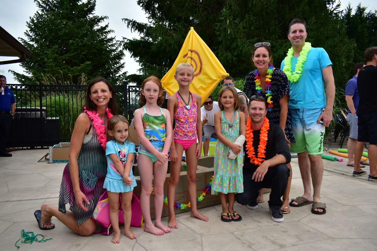 Sand Creek Country Club Members Set Sail at Annual Cardboard Boat Regatta
