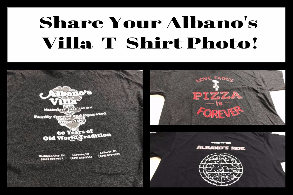 Show Your Albano's Villa Support with a New T-Shirt!