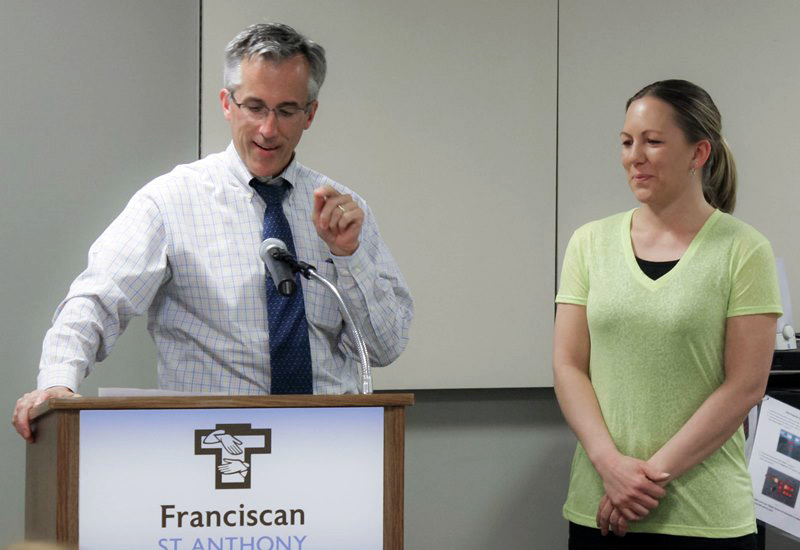 Doctor and Nurse at Franciscan Health Michigan City Receive Colleague Recognition