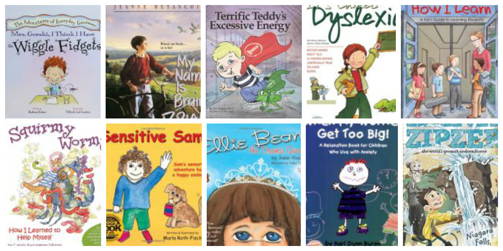 Top 10 Children's Books for Kids with ADHD, Learning Differences and Sensory Processing Disorder