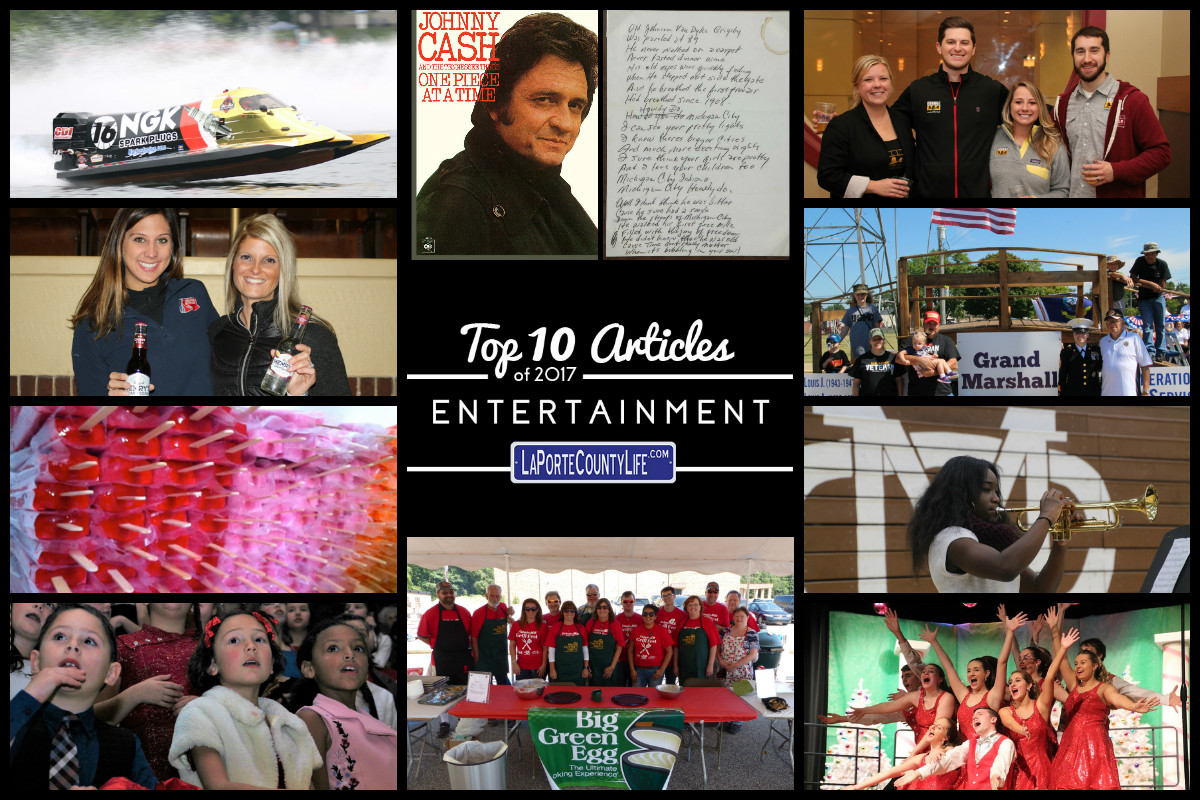 Top 10 Entertainment Articles on LaPorteCountyLife from 2017