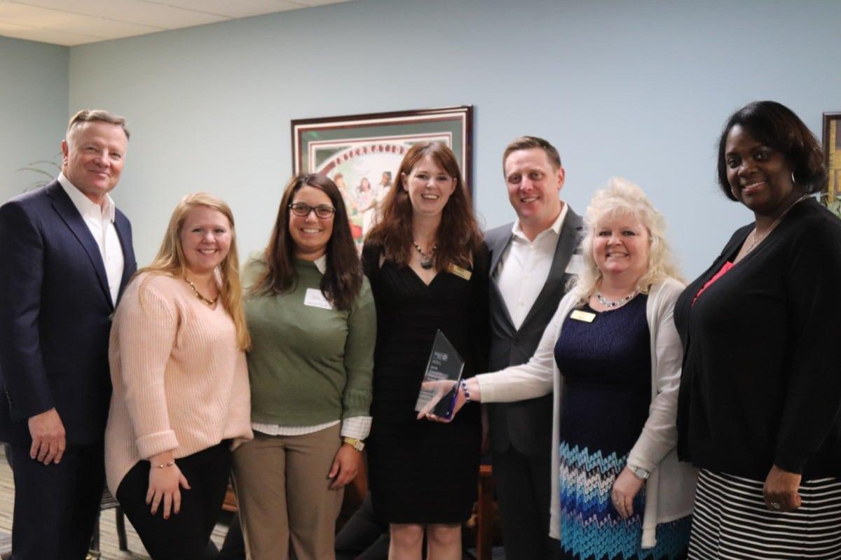 Horizon Bank wins award at United Way of La Porte's fundraising campaign celebration