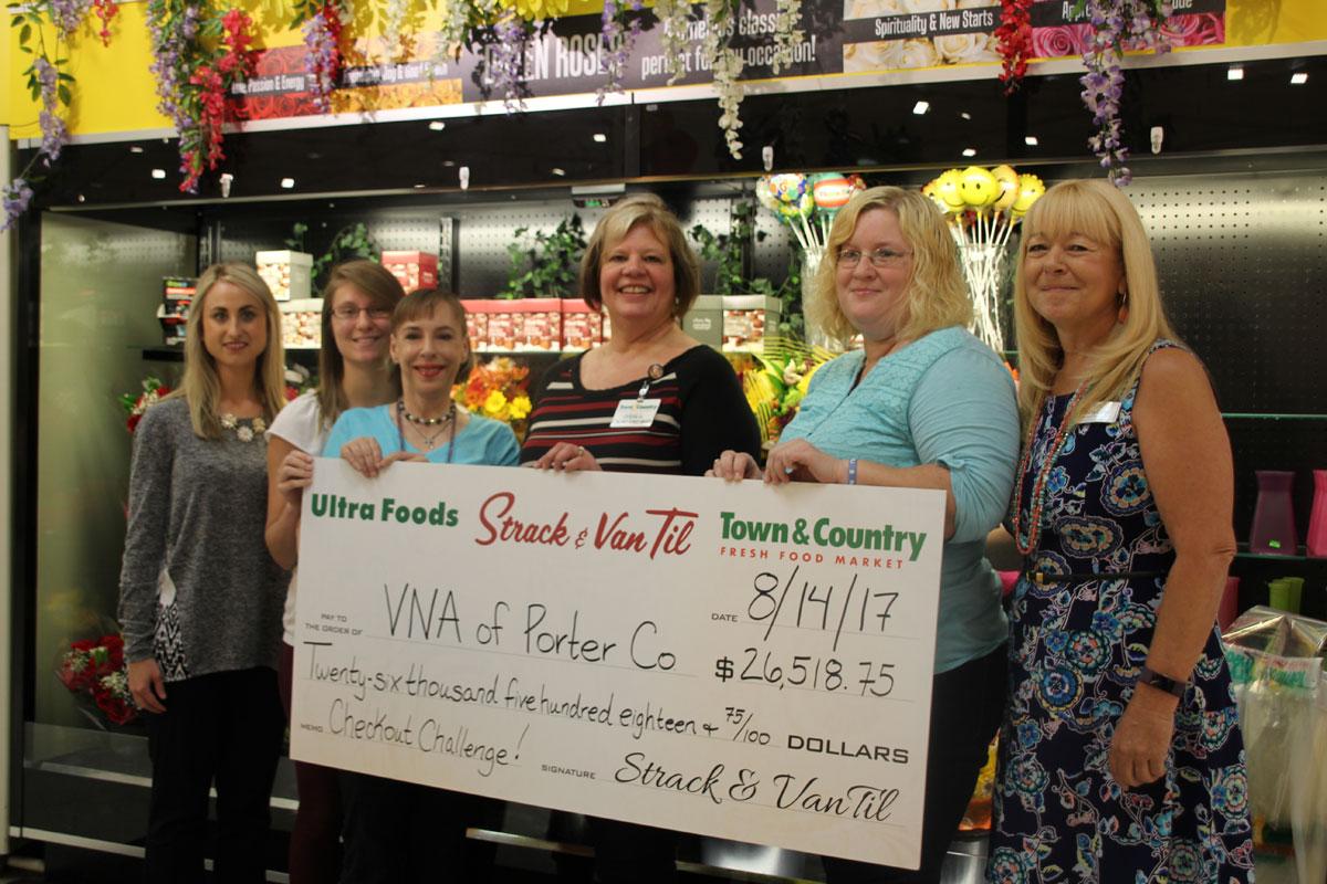 Strack & Van Til Rounds Up $26K for Visiting Nurse Association's Meals on Wheels!