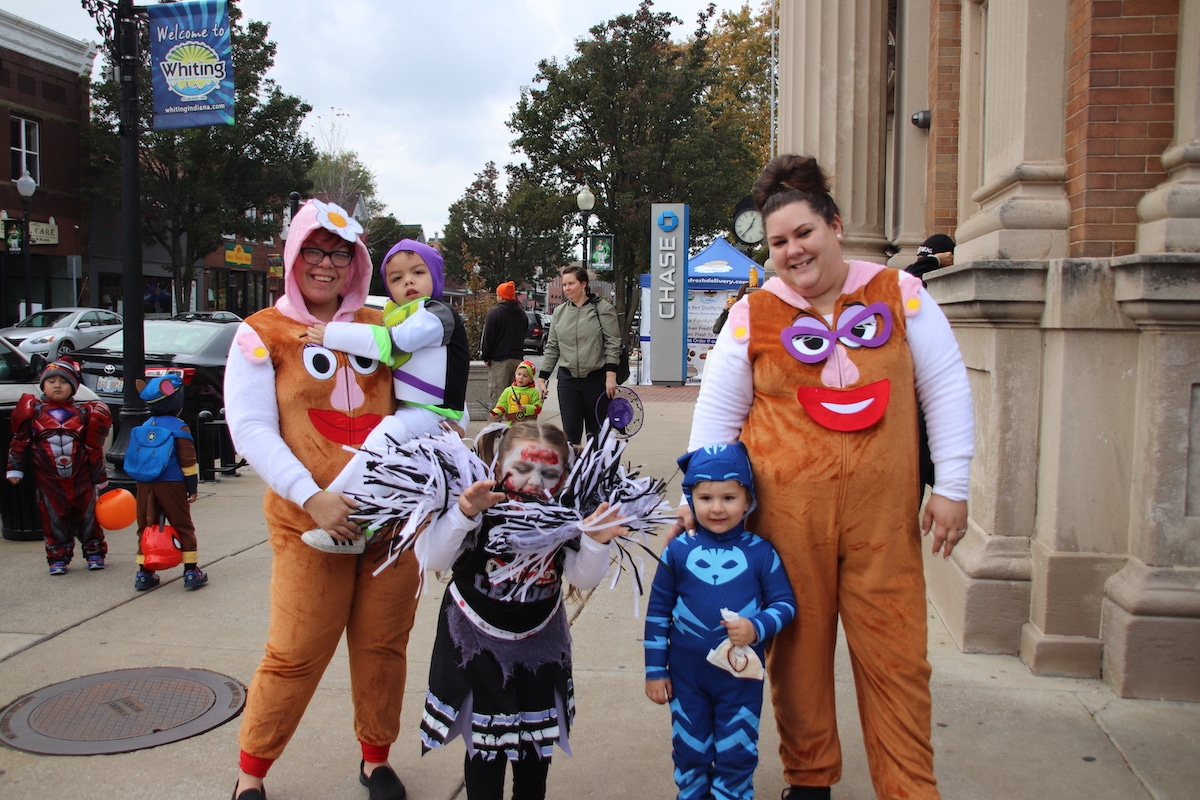 Costumes March Down the Streets For City of Whiting's Annual Halloween Parade
