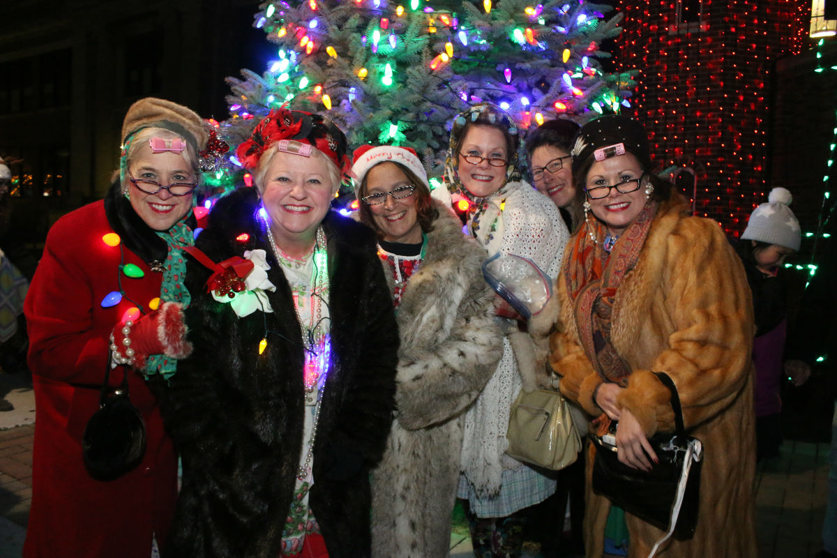 The City of Whiting Holds Their Annual Illuminated Christmas Parade