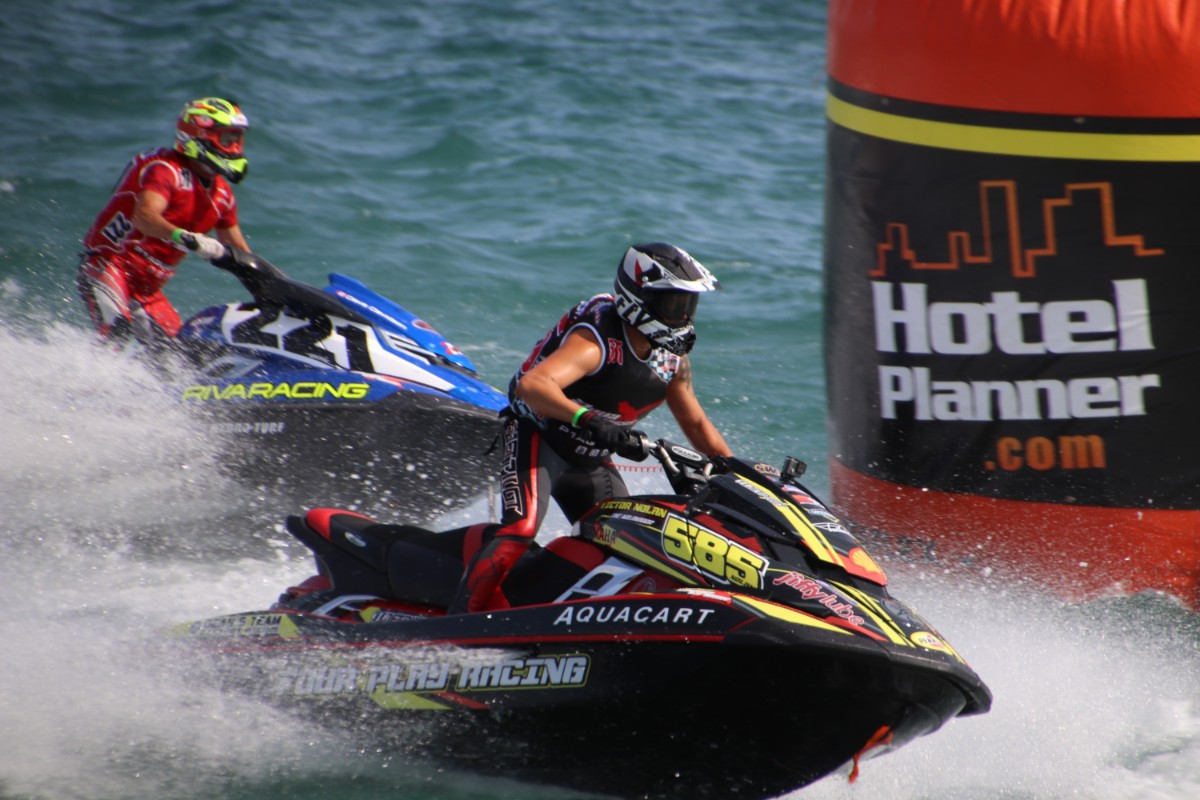 The City of Whiting Hosts 3rd Annual Exciting and Fast-Paced AquaX Jet Ski Races