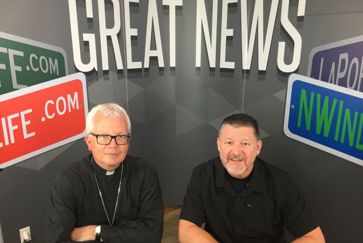 NWI Great News Show: The Roman Catholic Diocese of Gary, Bishop Donald J. Hying,  On Faith, an Ever Changing Church, the Pope, and the Beautiful People of NWI
