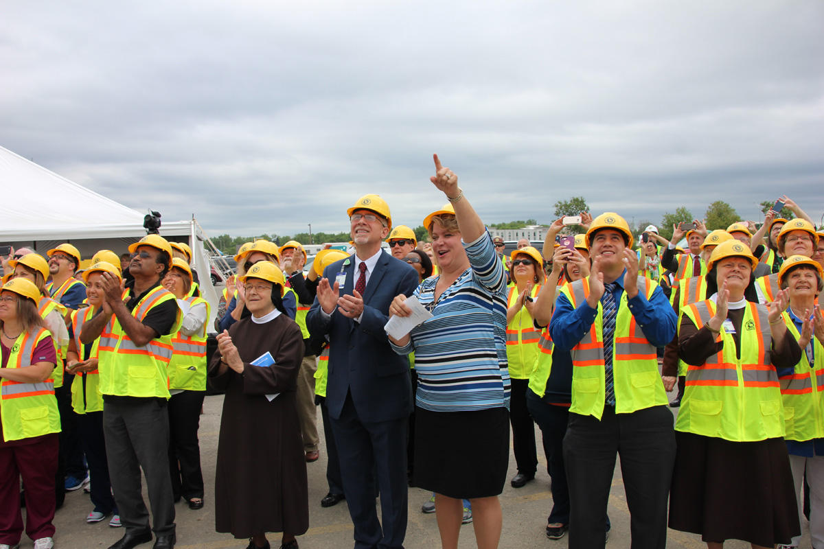 Franciscan Health Celebrates New Michigan City Hospital Progress with 'Topping-Off' Ceremony