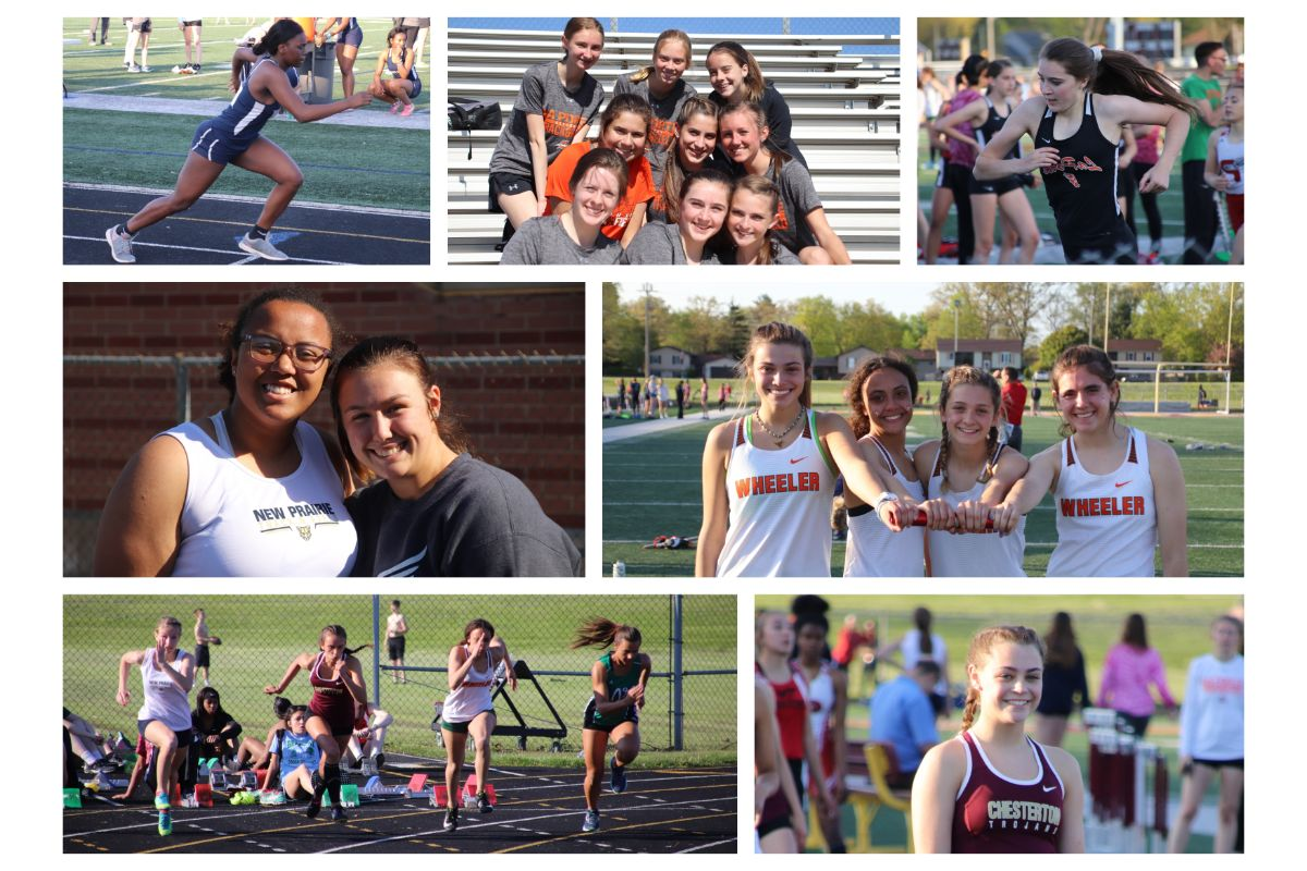 The future is bright for girls' track