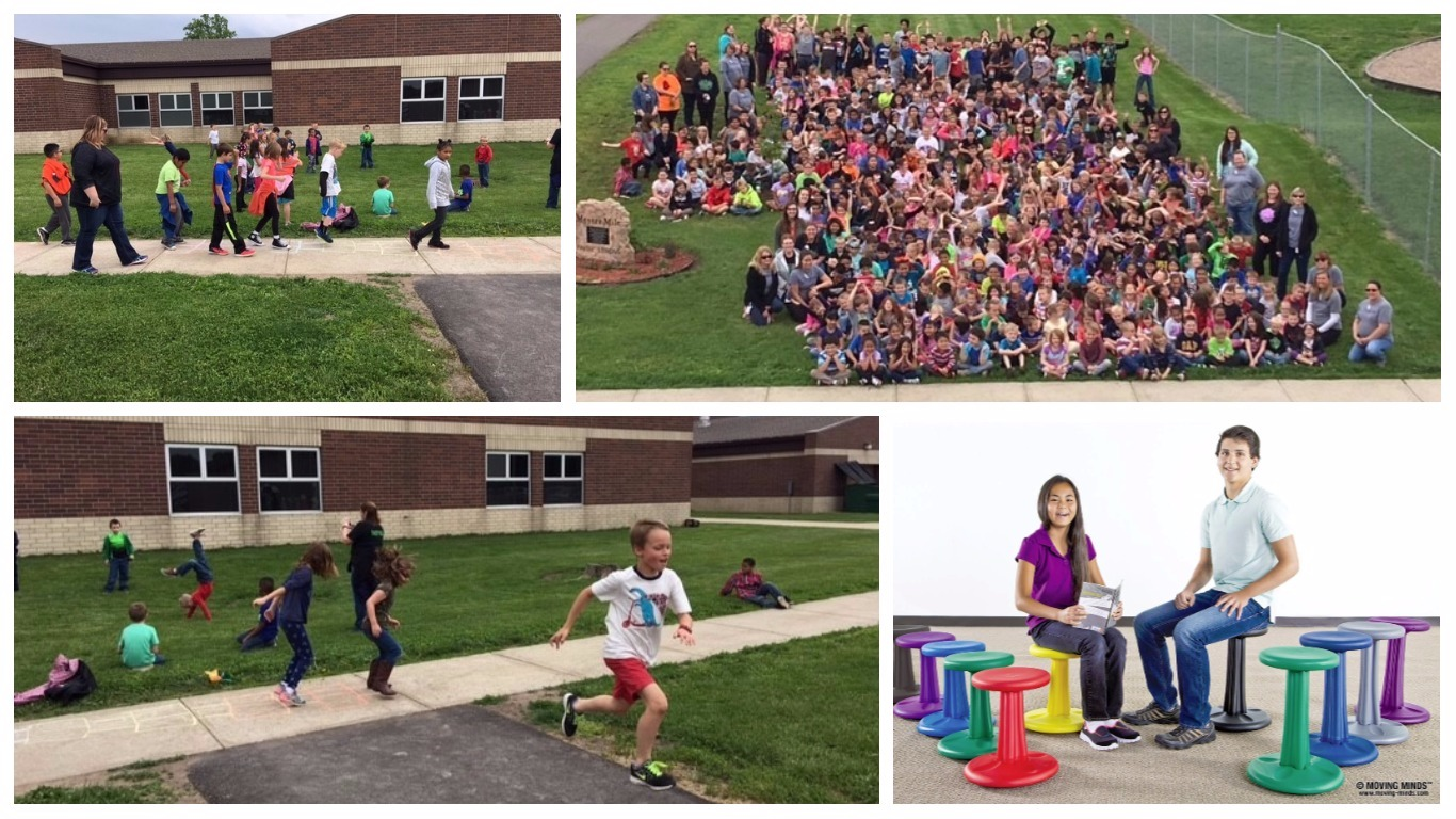 Hailmann Elementary School Wins 2017 Get Active, Get Fit School Challenge!