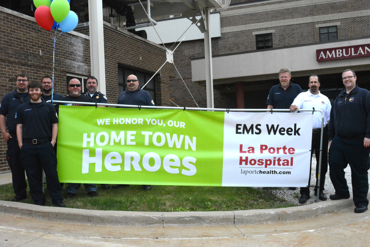 La Porte Hospital Says Thank You to Emergency Workers with 2017 EMS Week Luncheon