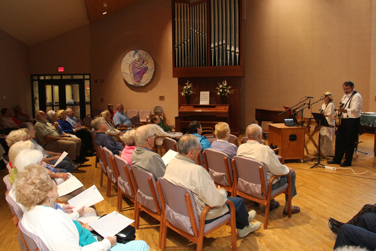 First Friday at the Chapel Provides Uplifting Music for Patients, Attendees at La Porte Hospital