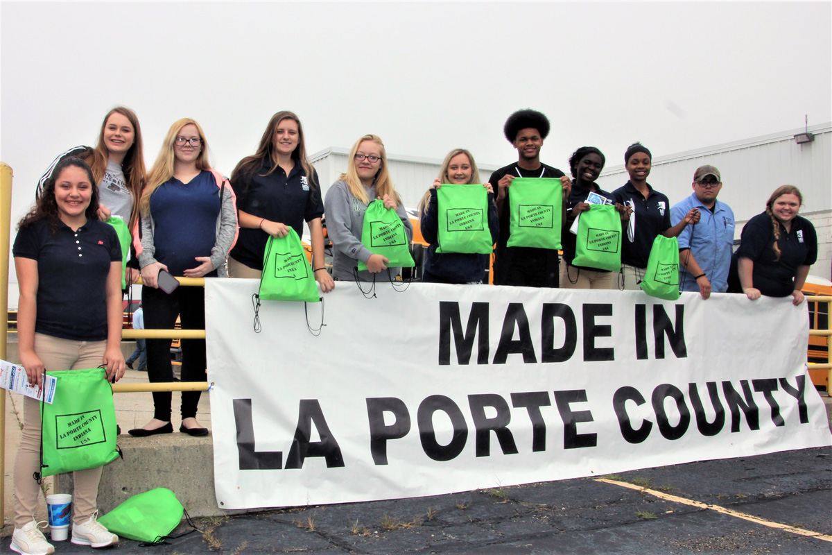 Made in La Porte County Brings Industries Together with Thousands of Students to Learn about Opportunities Available to Them