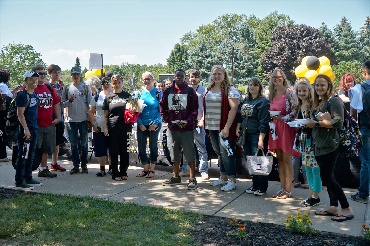 Purdue Northwest Celebrates New and Returning Students with 2017 Welcome Week Rally at Westville Campus