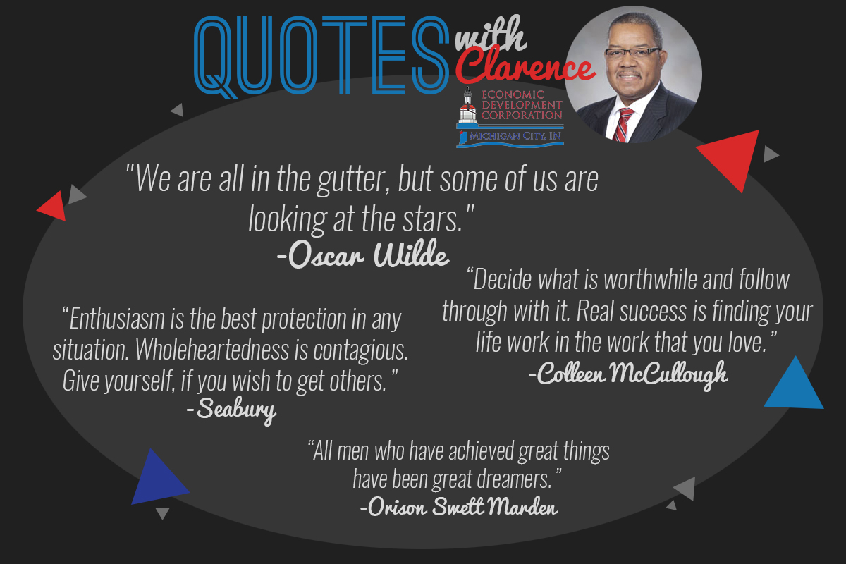 Quotes with Clarence: Why the EDCMC Leader Loves Motivational Mondays