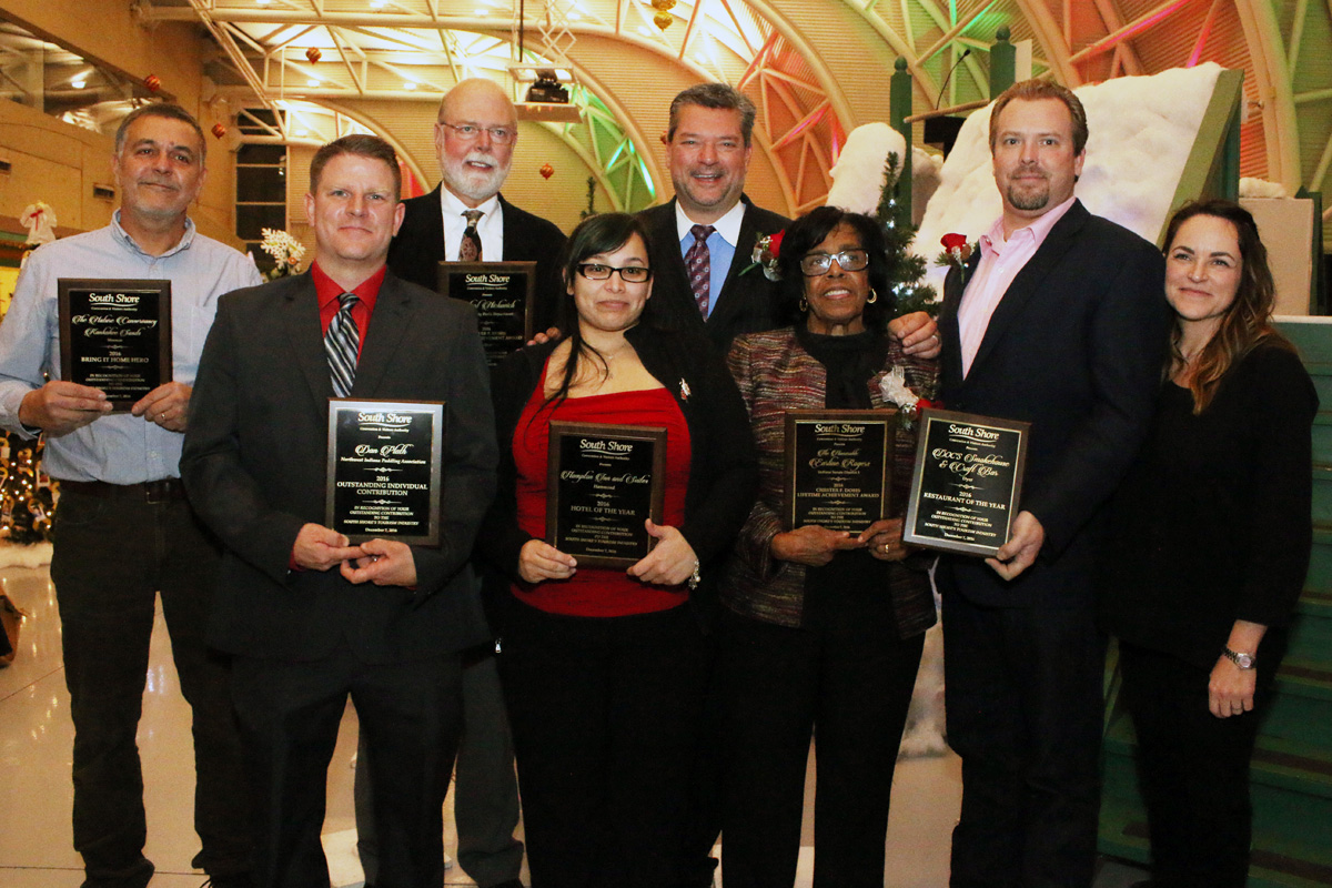 South Shore CVA Honors Hospitality and Business Leaders at Holiday Reception